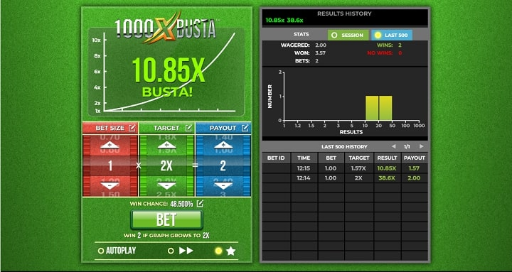 1000X Busta геймплей