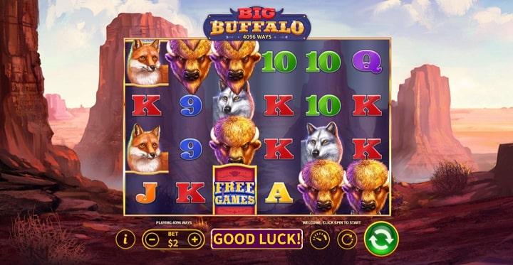 Big Buffalo геймплей