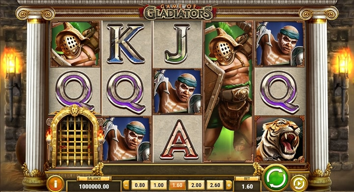Game of Gladiators геймплей